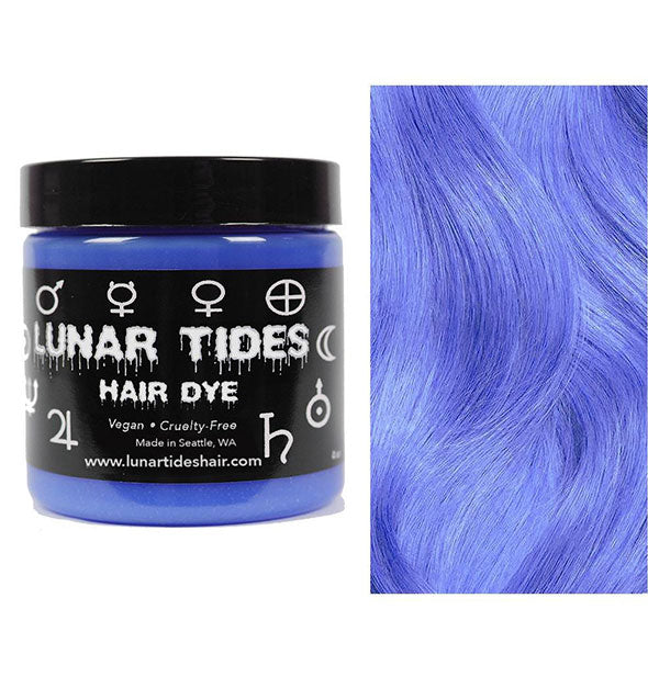 semi permanent hair dye in moon stone