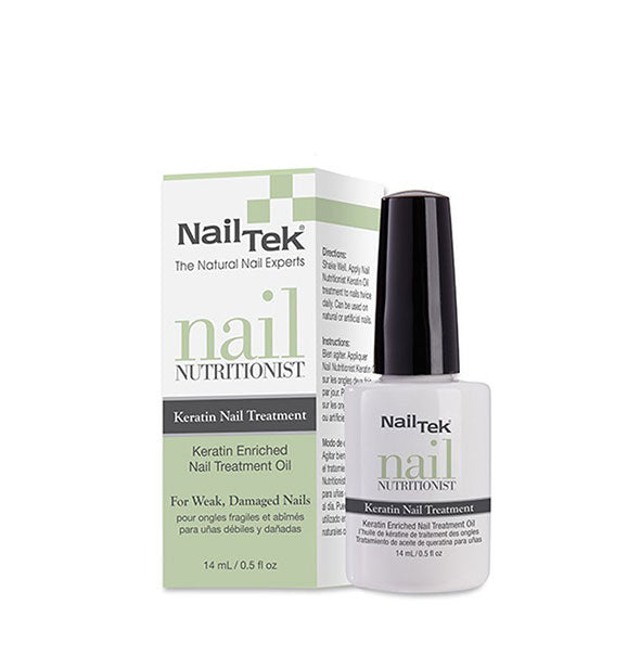 Enriched Nail Treatment Oil for Weak Damaged Nails