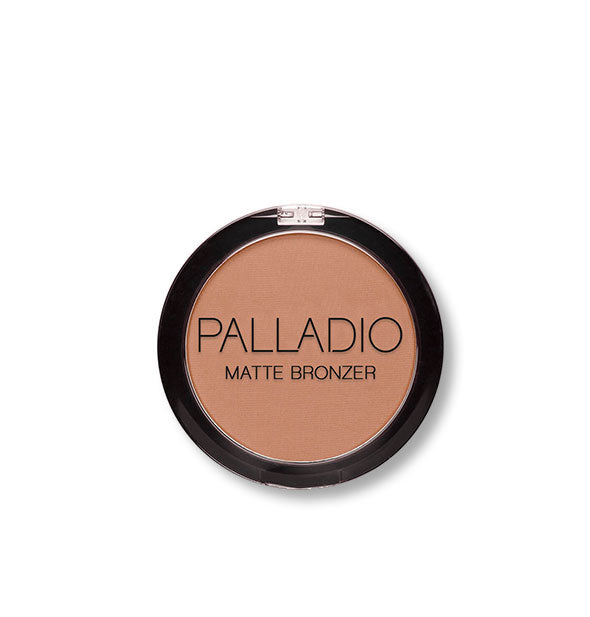 A compact of Palladio Matte Bronzer in the shade No Tan Lines.