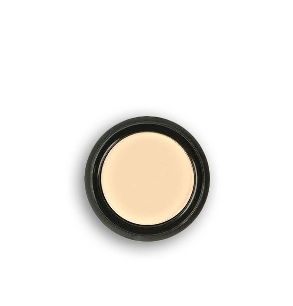 Off-white pressed powder eyeshadow