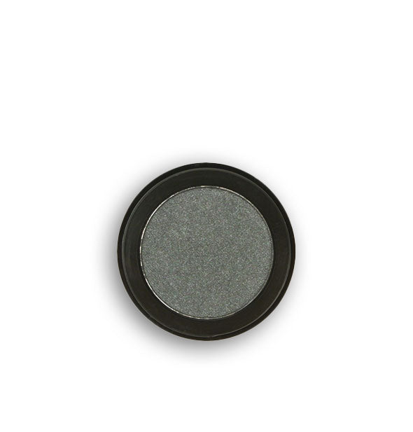 Dark silver pressed powder eyeshadow