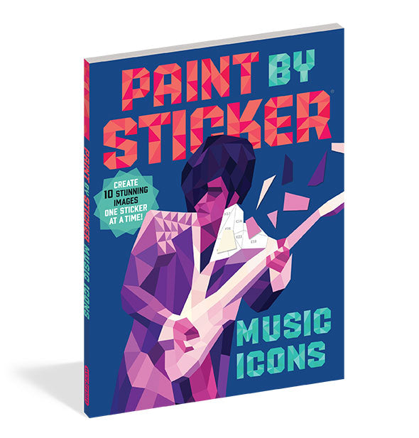 "Cover of ""Paint by Sticker: Music Icons"" by Workman Publishing."