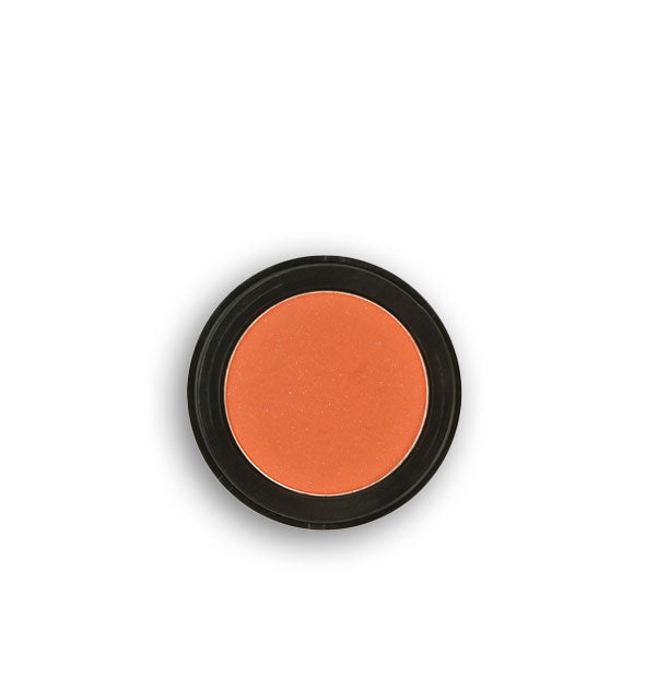 Salmon-colored pressed powder eyeshadow