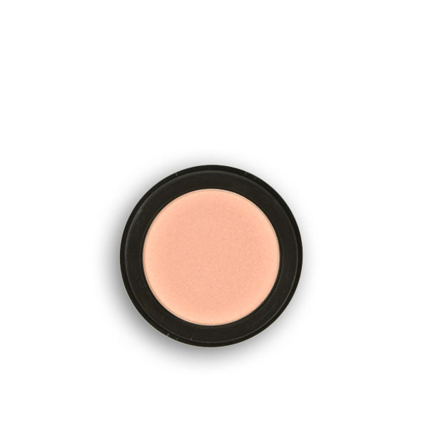 Light peachy-pink pressed powder eyeshadow