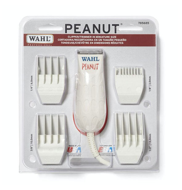 Wahl - Peanut Professional Clipper/Trimmer: White