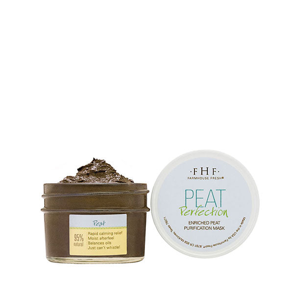 Enriched Peat Purification Mask