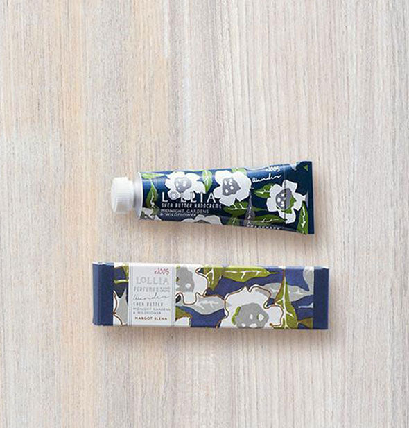 garden and wildflower shea butter hand creme mini