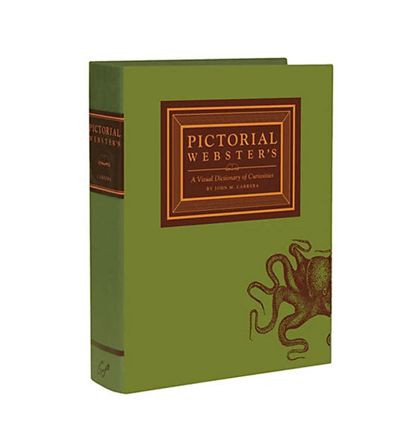 Cover of Pictorial Webster's: A Visual Dictionary of Curiosities by John M. Carrera