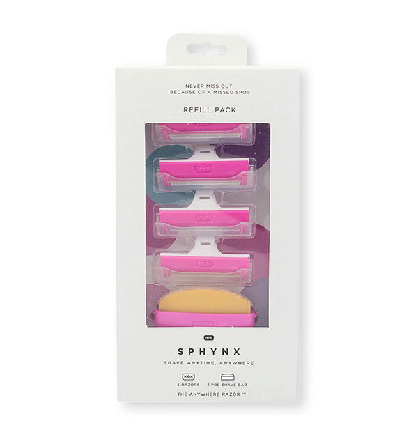 A Sphynx Razor Refill Pack - PINK ME UP