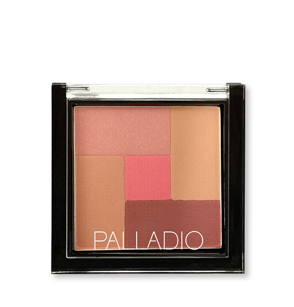 A compact of Palladio 2-in-2 Mosaic Powder in the shade Pink Truffle.