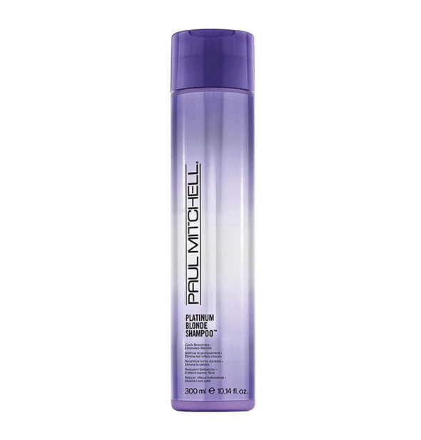 10.14 ounce bottle of Paul Mitchell Platinum Blonde Shampoo