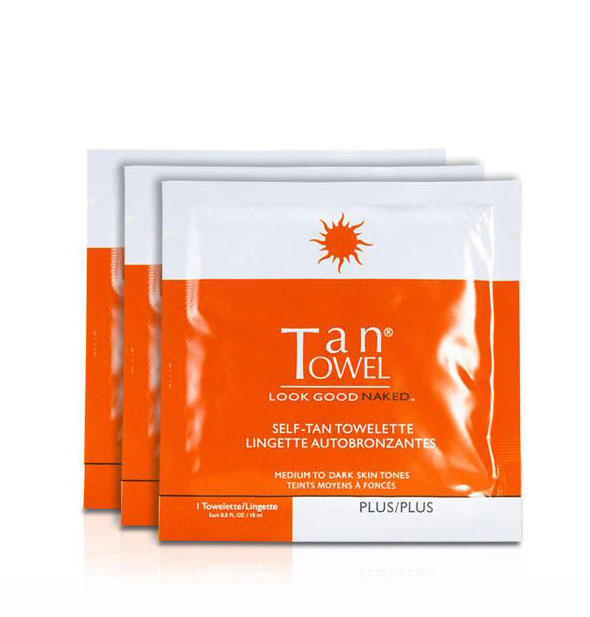 TanTowel - Plus Total Body Tan