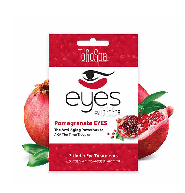 3 Pomegranate Under Eye Masks Anti-Aging Powerhouse