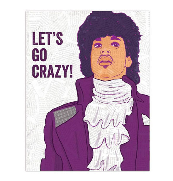 The Prince Lets Go Crazy! Card