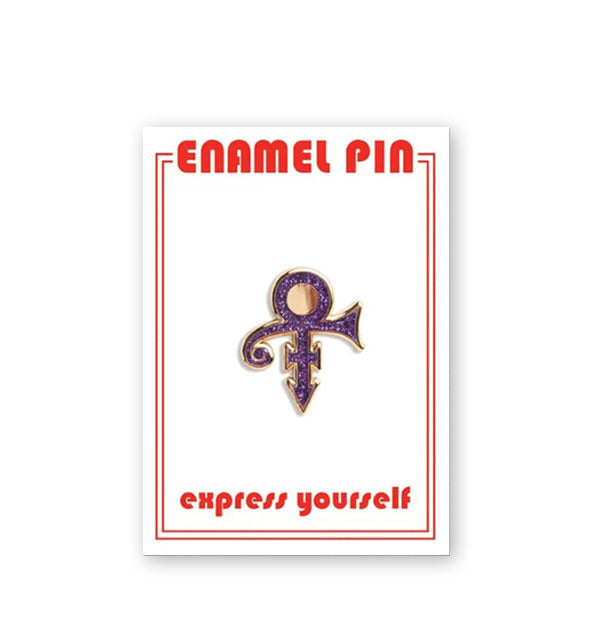 The Prince Symbol Enamel Pin