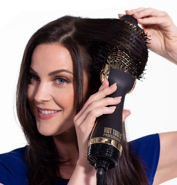 24K Gold One Step Blowout Styler