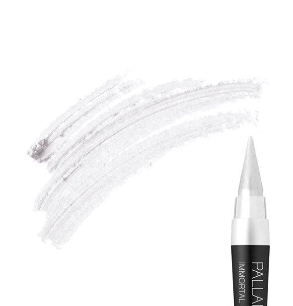 PURITY Lasting Cream Eyeliner with Cream Eyeliner colored on background to illustrate color and texture