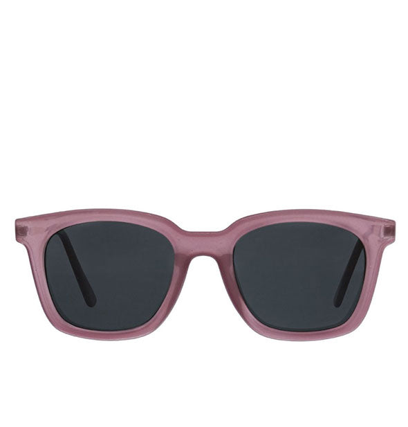 Front view of Peepers Endless Summer Sunglasses in Purple.