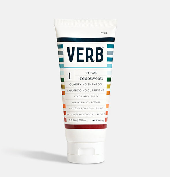 6.8 ounce bottle of Verb Reset Clarifying Shampoo