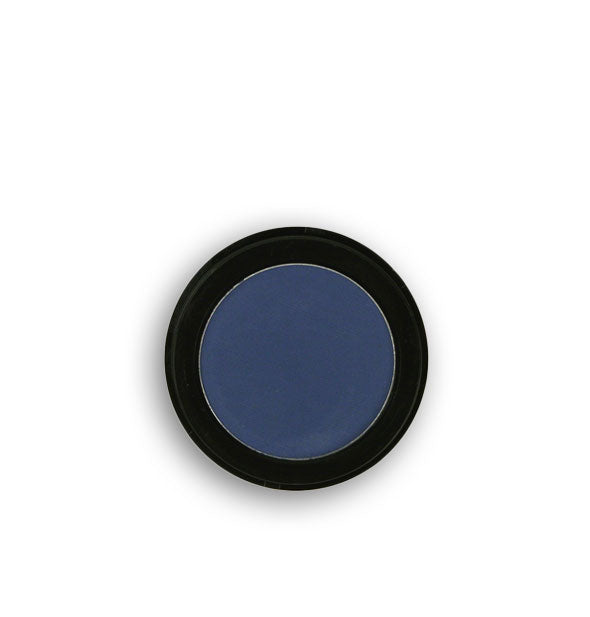 Dark blue pressed powder eyeshadow
