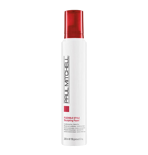 A can of Paul Mitchell Flexible Style Sculpting Foam 6.7 OZ