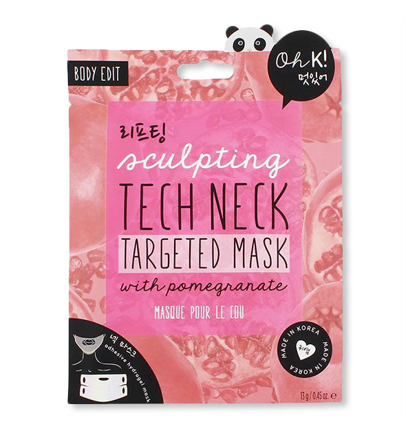 Sculpting Tech Neck Targeted Sheet Mask
