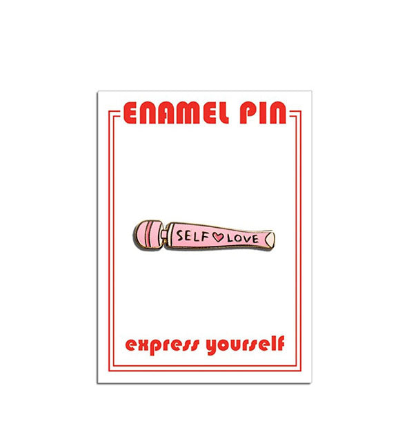 The Found - Self Love Vibrator Enamel Pin (4460601573446)