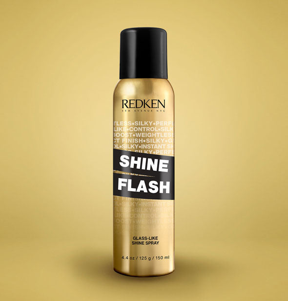 4.4 ounce can of Redken Shine Flash Glass-Like Shine Spray
