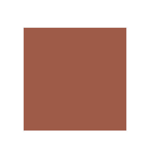 Deep peachy-brown swatch square