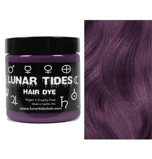 semi permanent hair dye in smokey mauve