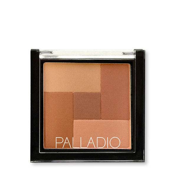 A compact of Palladio 2-in-2 Mosaic Powder in the shade Spice.