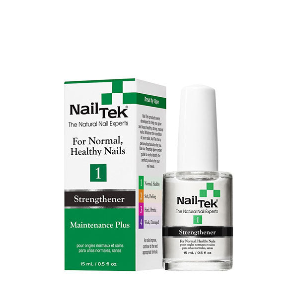 Nail Tek - Strengthener 1 Maintenance Plus For Normal, Healthy Nails (4460821610566)