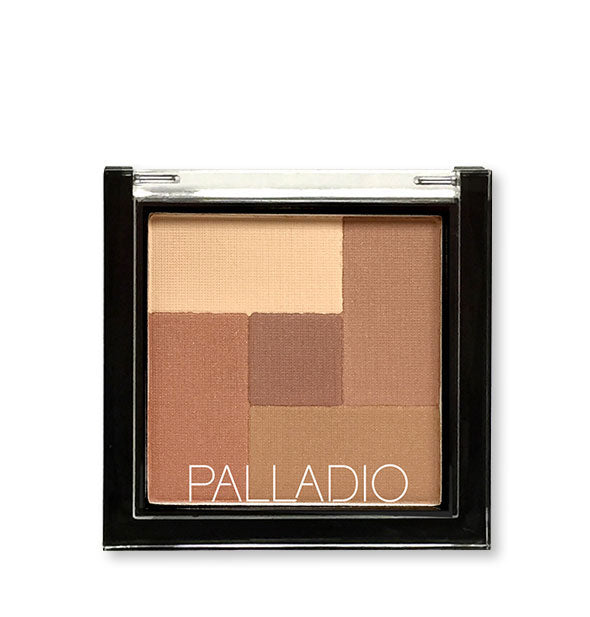 A compact of Palladio 2-in-2 Mosaic Powder in the shade Sunkissed.