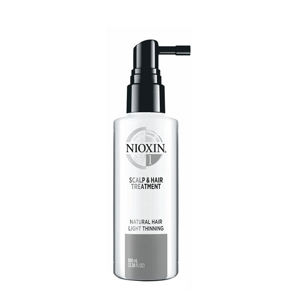 Nioxin - System 1 Scalp Treatment volumizing, is a  leave-on treatment that contains antioxidants and botanicals which help provide a refreshed scalp environment for normal to thin-looking fine, natural hair.
