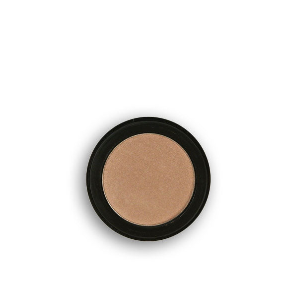 Light brown pressed powder eyeshadow