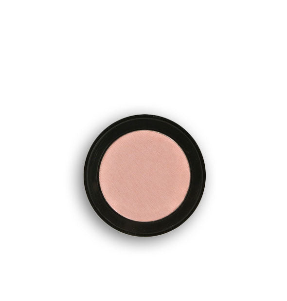 Pale pink pressed powder eyeshadow