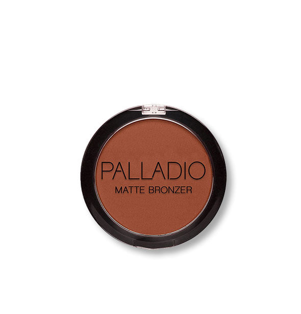 A compact of Palladio Matte Bronzer in the shade Teeny Bikini.