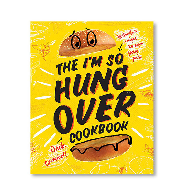 The I'm So Hungover Cookbook cover