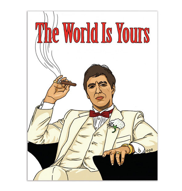 Scarface The World Is Yours Card