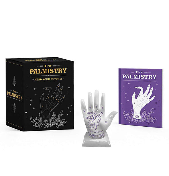 Contents of the Tiny Palmistry kit