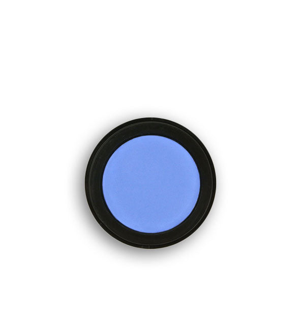 Bright blue pressed powder eyeshadow