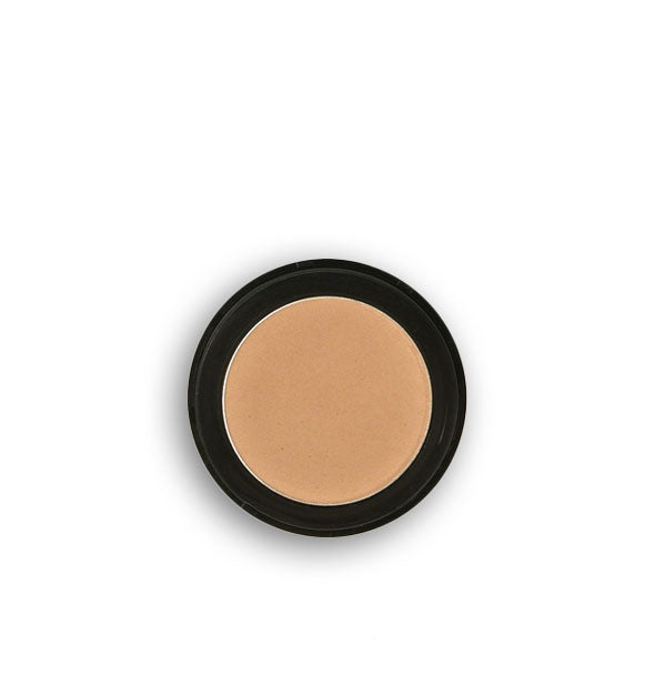 Light tan pressed powder eyeshadow