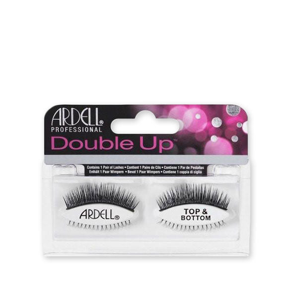Black Top & Bottom Double Up Lashes