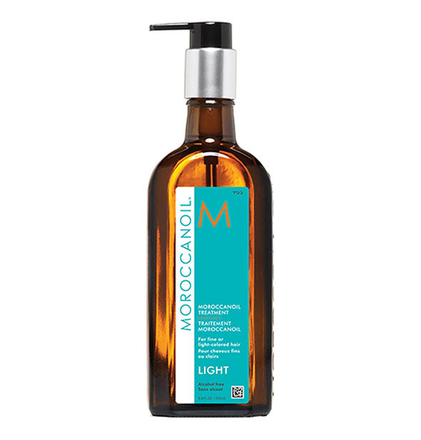 6.8 ounce bottle of Moroccanoil Light Treatment Oil