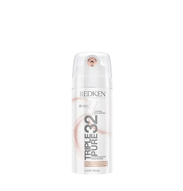 4.4 ounce can of Redken Triple Pure 32 Extreme High Hold Hairspray