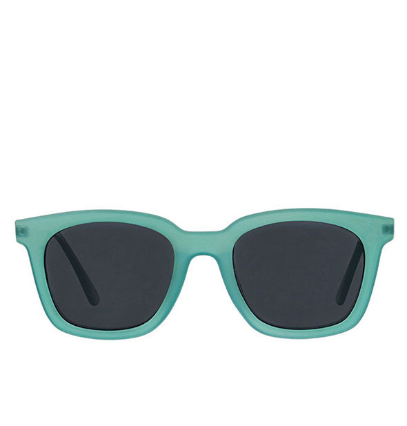 Front view of Peepers Endless Summer Sunglasses in Turquoise.