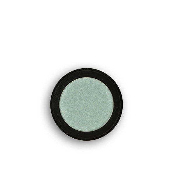 Light gray-green pressed powder eyeshadow