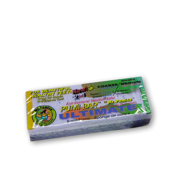 Mr. Pumice Pumi Bar Ultimate in wrapper