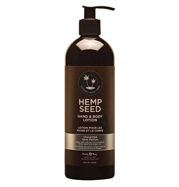 Hemp Seed Hand And Body Lotion Unscented
