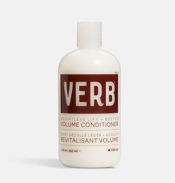 A bottle of Volume Conditioner 12 fl OZ
